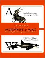 createspace publishing wordpress and ajax, an in-depth guide on using ajax with wordpress (2010)