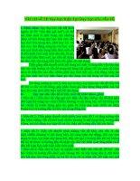 Phương pháp dạy học hiện đại : Vài nét về dạy học nêu vấn đề