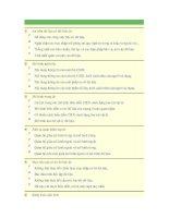 Câu hỏi trắc nghiệm môn cơ sở dữ liệu đề 3 pdf