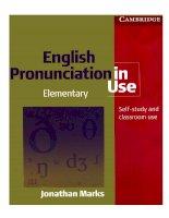 cambridge - english pronunciation in use (elementary) (2007)