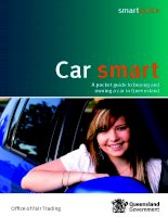 Car smart - A pocket guide to buying and owning a car in Queensland pdf