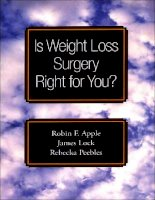 Is Weight Loss Surgery Right for You? potx