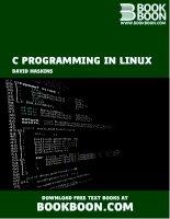 David haskins   c programming in linux