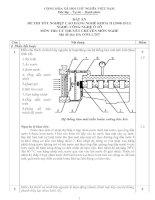 đáp án đề thi lý thuyết khóa 2 - công nghệ ôtô - mã đề thi oto - lt (7)