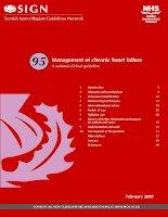 Management of chronic heart failure pptx