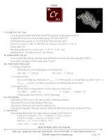 File tổng về crom   hợp chất của crom