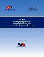Cẩm nang chính sách và tham vấn ý kiến hội viên cho hiệp hội doanh nghiệp Việt Nam pot