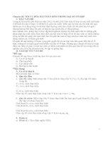 Chuyên đề: Tối ưu hóa bài Toán đếm trong đại số tổ hợp