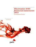 Illustrative IFRS financial statements 2011 Investment funds doc