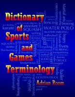 Dictionary of Sports and Games Terminology pdf