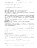 ĐỀ KHẢO SÁT CHẤT LƯỢNG LỚP 12, LẦN 3 - NĂM 2013 Môn: TOÁN; Khối: A và A1 - TRƯỜNG ĐẠI HỌC VINH doc