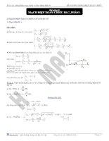 bài giảng mạch điện xoay chiều RLC phần 1