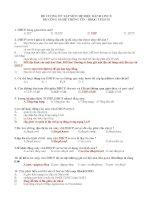 ĐỀ CƯƠNG ÔN TẬP MÔN HỆ ĐIỀU HÀNH LINUX ĐH CÔNG NGHỆ THÔNG TIN - ĐHQG TP HCM pot
