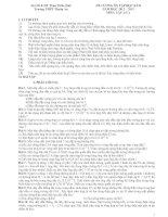 ĐỀ CƯƠNG ÔN TẬP HỌC KÌ II NĂM HỌC 2012 – 2013 MÔN: VẬT LÍ 11 pdf