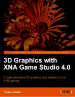 3D Graphics with XNA Game Studio 4.0 pptx