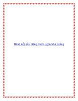 Bánh nếp sầu riêng thơm ngon khó cưỡng pdf