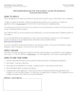 WISCONSIN MEDICAID FOR THE ELDERLY, BLIND OR DISABLED APPLICATION PACKET doc