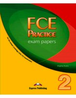 fce practice exam papers student's book