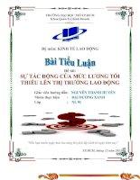 BAI WORD KINH TE LAO DONG-- NHOM 6 doc