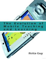 the evolution of mobile teaching and learning pot