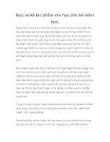 Đọc và kể tác phẩm văn học cho trẻ mầm non. pptx
