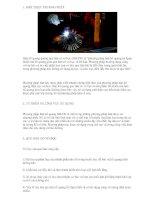 Giới thiệu phương pháp hàn hồ quang que hàn có vỏ bọc pptx