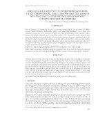 HIỆU QUẢ CỦA VIỆC XỬ LÝ ETHEPHON DẠNG ĐƠN VÀ KẾT HỢP VỚI GA3, CACL2 TRƯỚC KHI THU HOẠCH ĐẾN MÀU SẮC VÀ PHẨM CHẤT TRÁI CAM MẬT (CITRUS SINENSIS (L.) OSBECK) docx