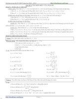 Tài Liệu ôn thi môn toán 2012 - 2013 pptx