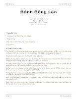 Bánh Bông Lan ppt