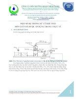 Tìm hiểu về một số hệ thống xử lý khí thải trong thực tế pptx