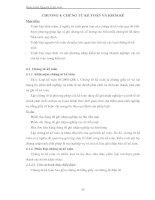 Giáo trình Nguyên lý kế toán - CHƯƠNG 4: CHỨNG TỪ KẾ TOÁN VÀ KIỂM KÊ pot