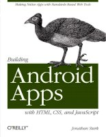 oreilly building android apps with html css and javascript (2010)