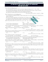 Lý thuyết và bài tập đặc trưng về aminoaxit - bài tập tự luyện potx