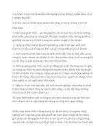 CHƯƠNG 4:GIẢI PHÁP NHẰM ĐẨY MẠNH HOẠT ĐÔNG BÁN HÀNG CỦA DOANH NGHIÊP potx