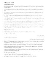 Soạn bài Các thành phần biệt lập - văn mẫu