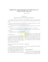 Nghiên cứu tuyển chọn một số tổ hợp dâu lai F1 trồng hạt mới chọn tạo pdf