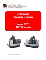 Mill Series Training Manual potx