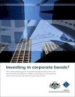 Investing in corporate bonds? ppt