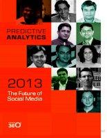 Simplify360 eBook: Predictive Analytics The Future of Social Media pdf