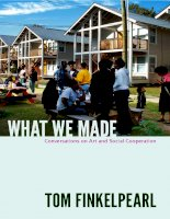 What We Made by Tom Finkelpearl docx