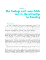The Savings and Loan Crisis and Its Relationship to Banking pptx