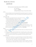 Bộ giáo dục và đào tạo hướng dẫn chấm đề thi chính thức Kì thi chọn học sinh giỏi quốc gia lớp 12 THPT năm 2010 Môn : Sinh học pdf