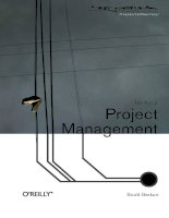 THE ART OF PROJECT MANAGEMENT docx