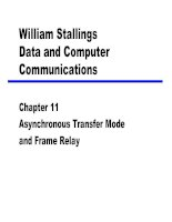 Chapter 11 :Asynchronous Transfer Mode and Frame Relay docx