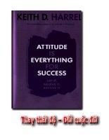 Thay thái độ, đổi cuộc đời