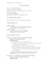 Mẫu CV xin việc vị trí nhân viên kinh doanh ppt
