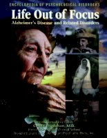 LifeOut of Focus Alzheimer's Disease and Related Disorders ppt