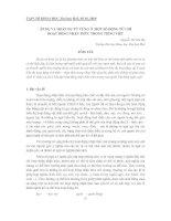 HOÁN DỤ TỪ VỰNG Ở MỘT SỐ ĐỘNG TỪ CHỈ HOẠT ĐỘNG NHẬN THỨC TRONG TIẾNG VIỆT pdf