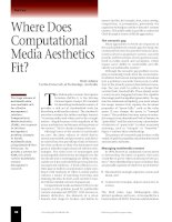 Where Does Computational Media Aesthetics Fit? docx