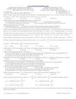 ĐỀ THI THỬ ĐẠI HỌC LẦN 2 NĂM 2013 MÔN VẬT LÝ - CHUYÊN PHAN BỘI CHÂU (Mã đề thi 014) pot
